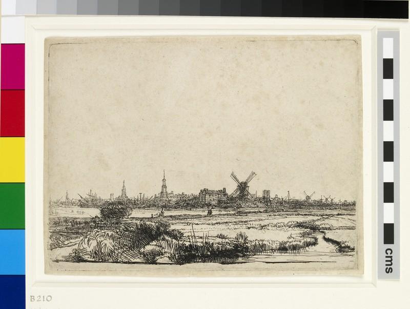 View of Amsterdam from the Kadijk (WA1855.440)