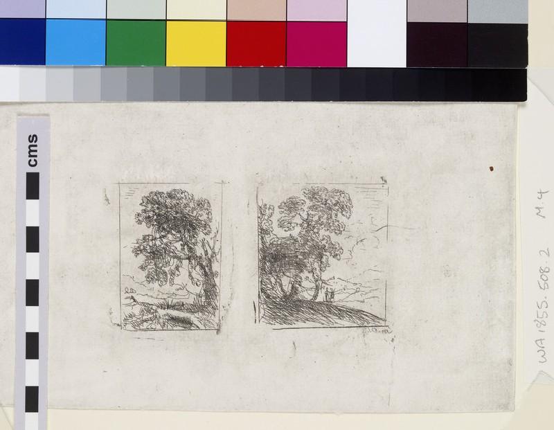 Les deux paysages (The two landscapes) (WA1855.508.2)