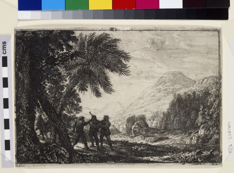 Scène de brigands (Landscape with brigands)