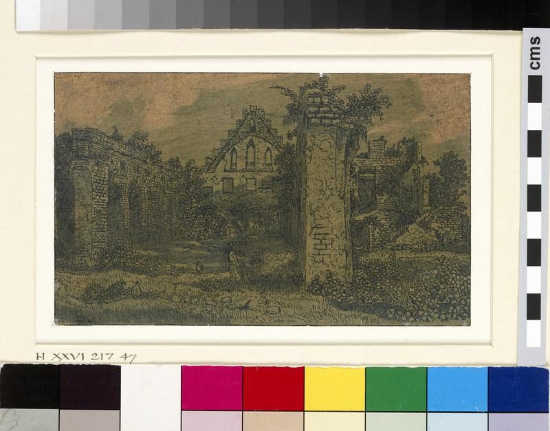 Ruins of the Abbey of Rijnsburg (WA1863.6643)