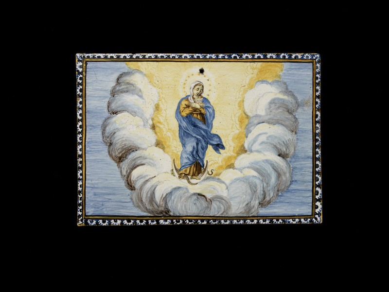 Devotional plaque, The Virgin of the Immaculate Conception