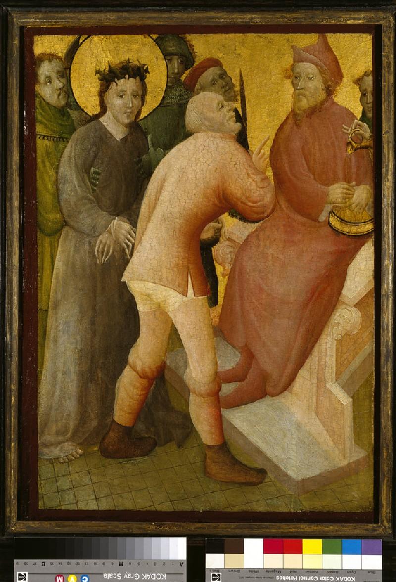 Christ before Pilate (WA1913.6)