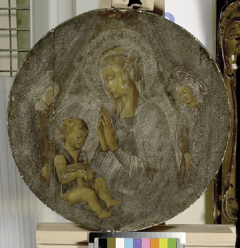 The Virgin and Child with two Angels (WA1915.12)