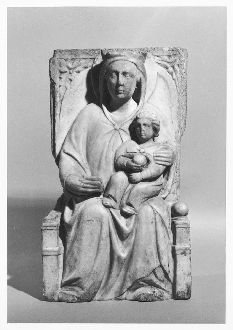 The Virgin and Child enthroned (WA1937.90)
