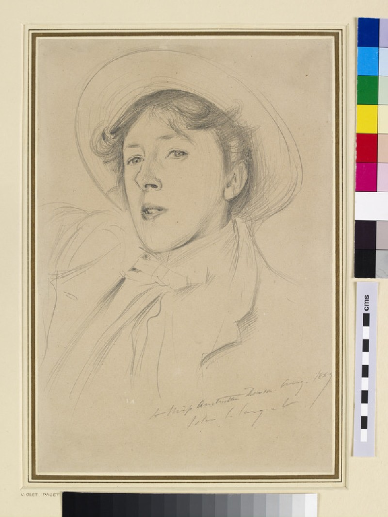 Portrait of Vernon Lee (WA1939.19)