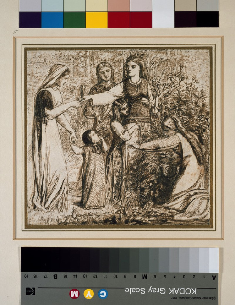 Dante's Vision of Matilda gathering Flowers (WA1942.157)