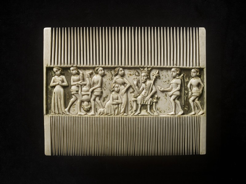 Comb with the Judgement of Solomon (WA1947.191.224)