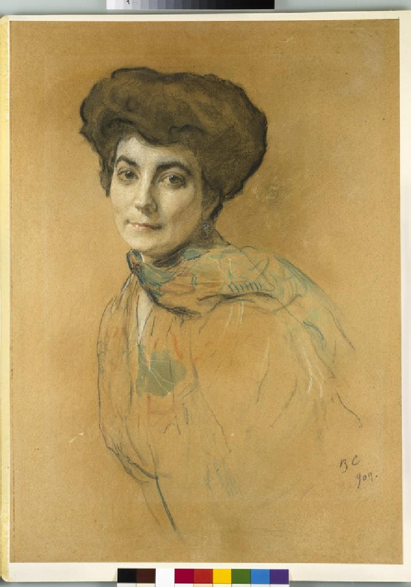 Portrait of Elena Ivanovna Roerich (WA1949.340)