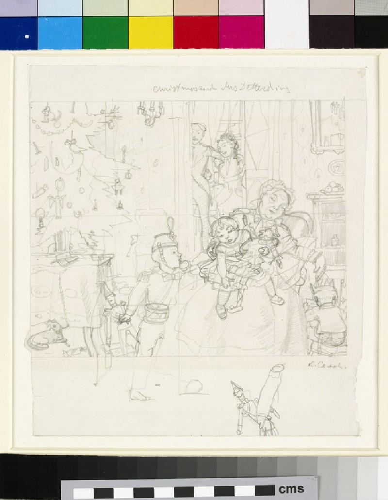 Christmas Tree (Christmas Card for Mrs Deterding) (WA1949.344)