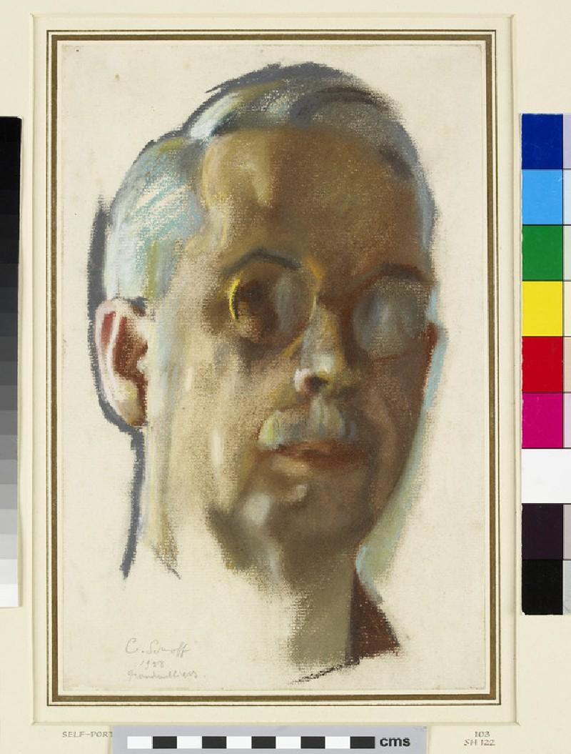 Self-portrait with Pince-nez (WA1949.348)