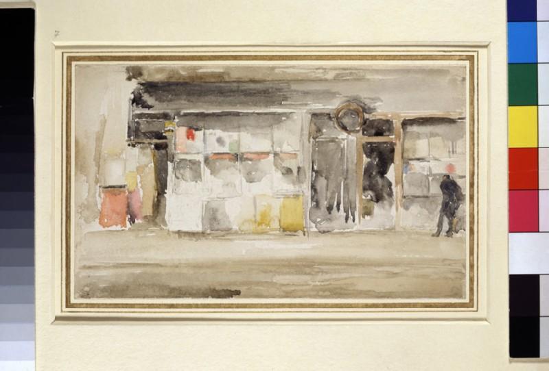 Shops in Chelsea (WA1955.74)