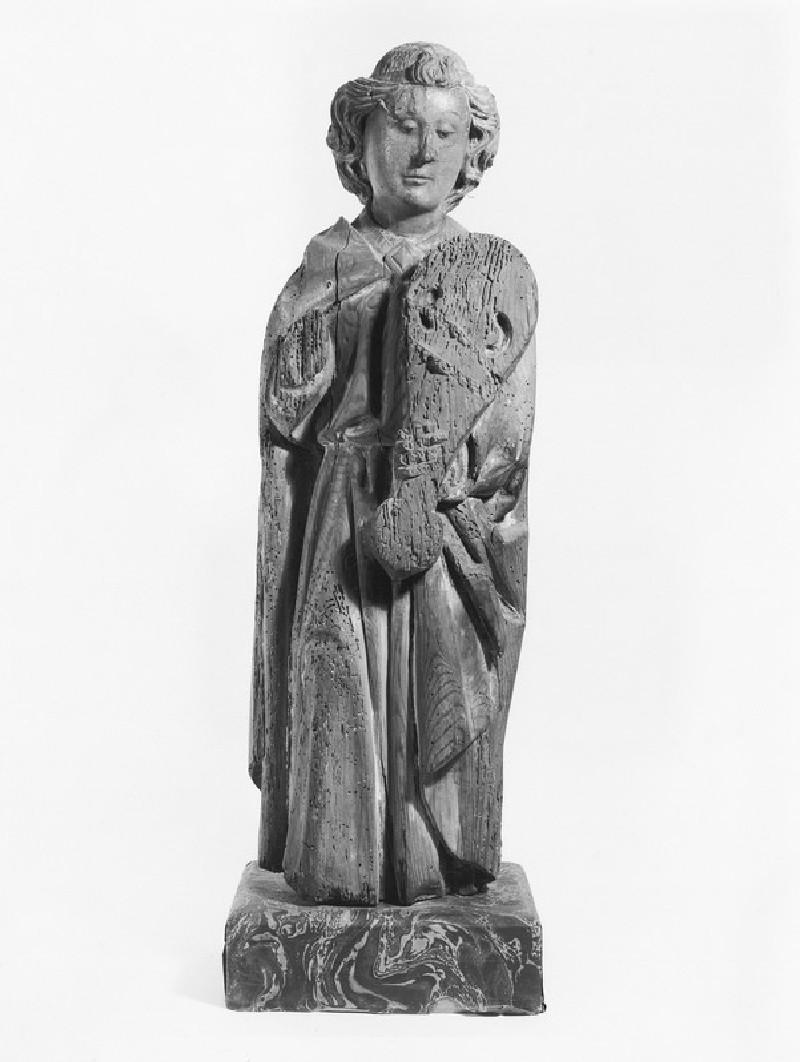 Angel with a lute (WA1996.481)