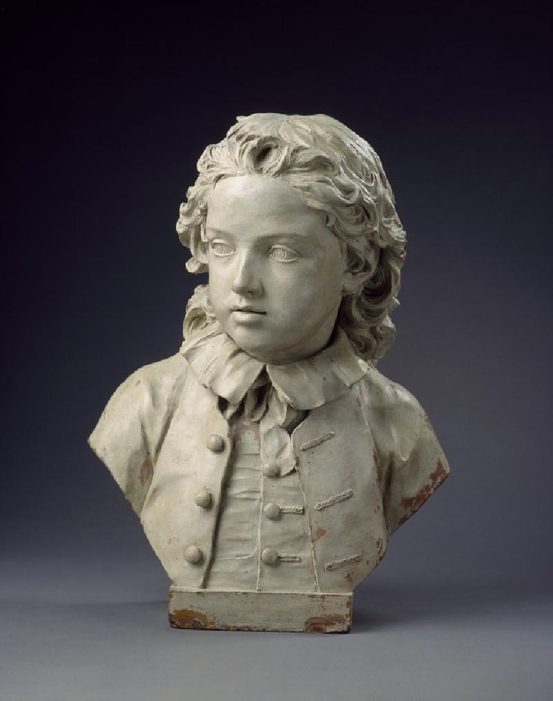 Bust of Edward Salter aged six (WA1999.22)
