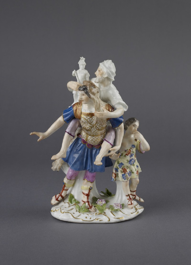 Figure group of Aeneas, Anchises and Ascanius