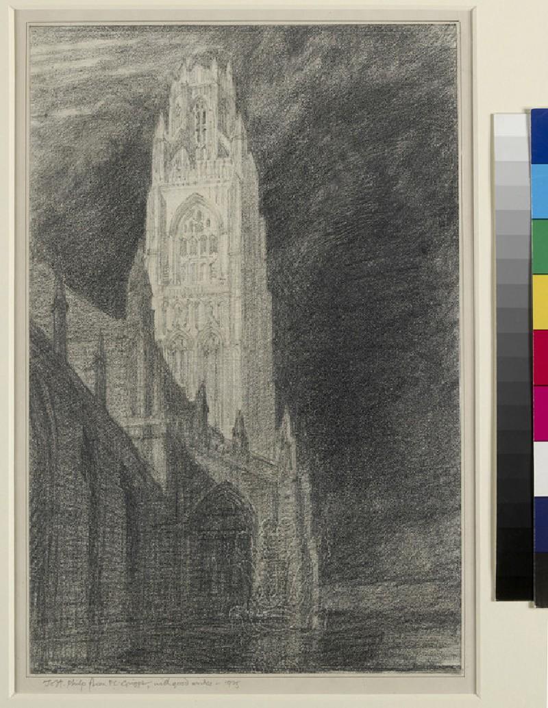 Study for 'St Botolph's, Boston'