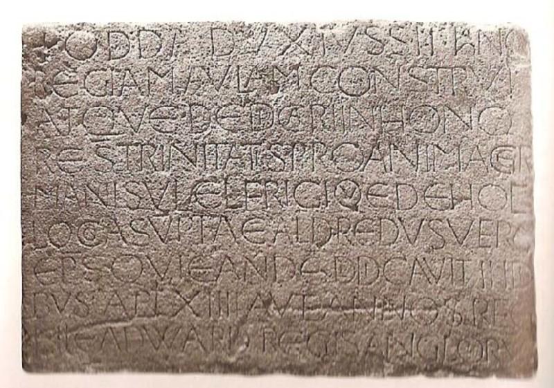 Stone (The Odda Stone), Latin inscription (AN1896-1908.M.300, record shot)