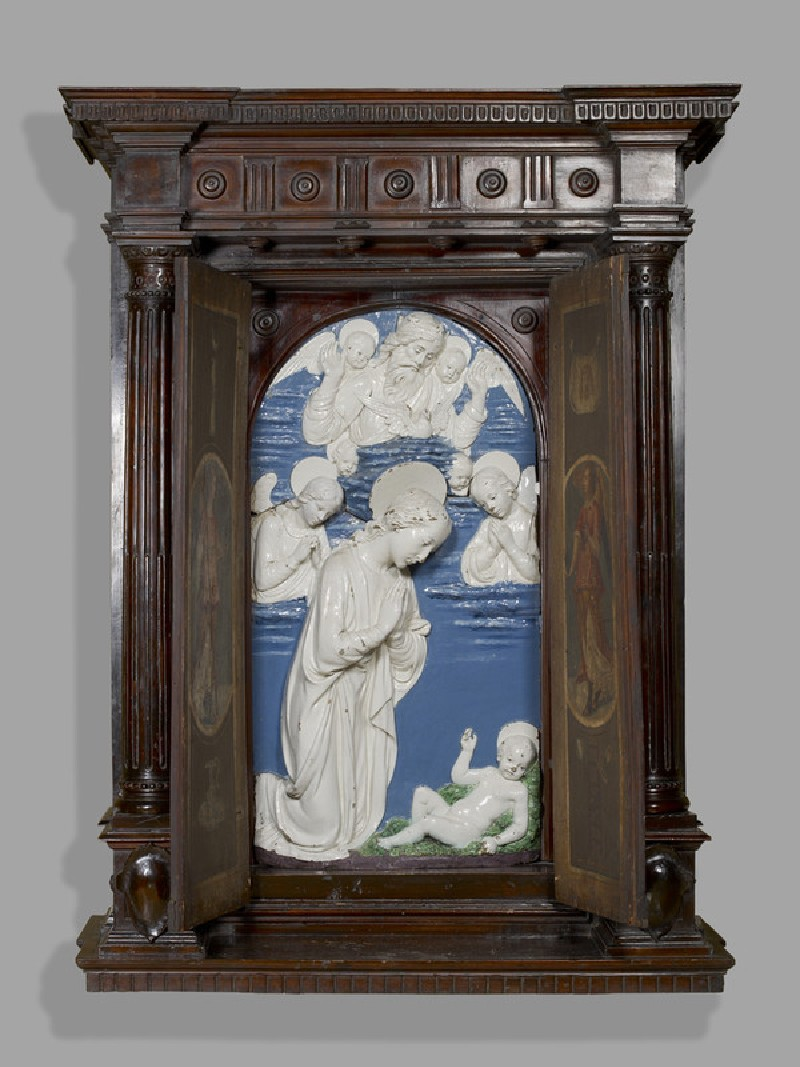Tabernacle with the Adoration of the Christ Child (WA1899.CDEF.S11, record shot)