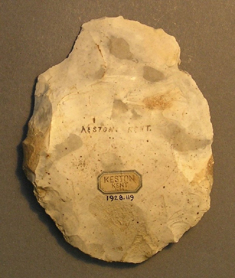 Levallois flake (AN1928.119, record shot)