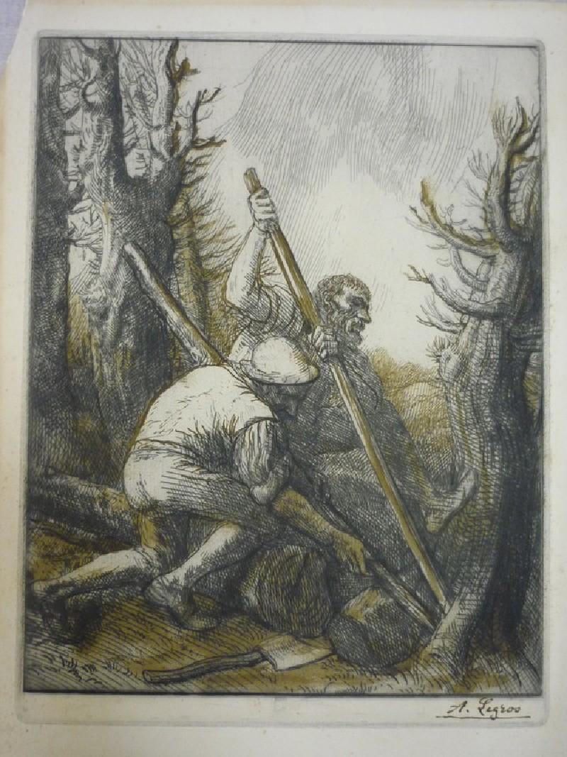 Woodcutters (WA1988.265, record shot)